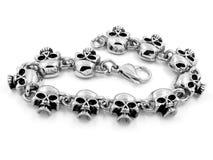 Bracelete da joia para as mulheres e os homens - de aço inoxidável Fotografia de Stock