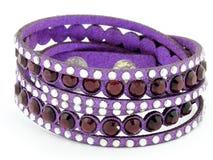 Bracelete da joia para as mulheres e os homens - de aço inoxidável Foto de Stock