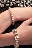 Bracelete da pérola Imagens de Stock
