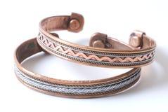 Bracelete de cobre Imagem de Stock Royalty Free
