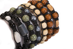 Bracelete de Shamballa Fotografia de Stock