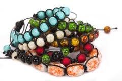 Bracelete de Shamballa Imagem de Stock Royalty Free