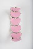 Bracelete do coração Imagens de Stock