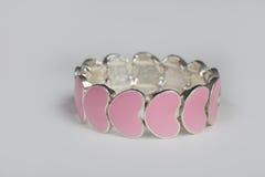 Bracelete do coração Imagem de Stock Royalty Free