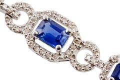 Bracelete do diamante Imagens de Stock