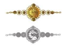 Bracelete do dragão Imagem de Stock Royalty Free