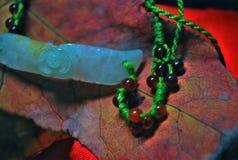 Bracelete do jade Foto de Stock Royalty Free