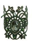 Bracelete do macramê com pedra Imagens de Stock Royalty Free