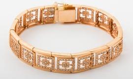 Bracelete do ouro Fotos de Stock