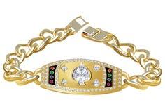 Bracelete do troféu do póquer Imagem de Stock