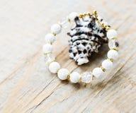 Bracelete feito à mão Fotografia de Stock