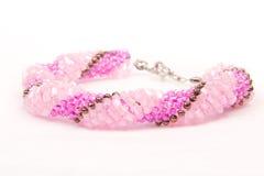 Bracelete frisado feito a mão Imagem de Stock Royalty Free