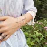 Braceletes bonitos imagens de stock