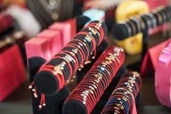 Braceletes e a outra joia Imagens de Stock Royalty Free