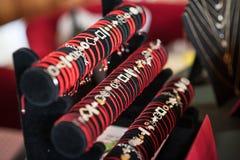 Braceletes e a outra joia Fotografia de Stock Royalty Free