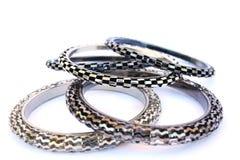 Bracelets. Isolated on white background Stock Image
