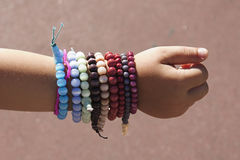 Bracelets royalty free stock images