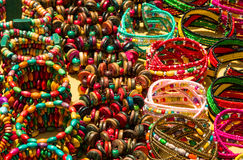 Bracelets africains Image stock