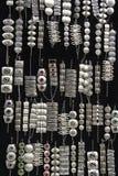 Bracelets argentés Photographie stock