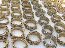 Bracelets and bangles Stock Image