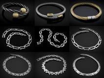Bracelets - Big set Stock Photography