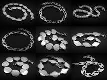 Bracelets - Big set Royalty Free Stock Images