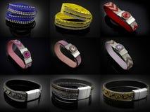 Bracelets - Big set Stock Image