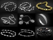 Bracelets - Big set Stock Photo