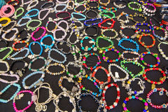 Bracelets cheap jewelry Stock Photos