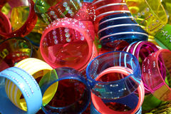 Bracelets colorés Photo libre de droits