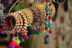 bracelets colorés Photos stock