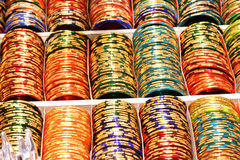 bracelets colorés Images stock