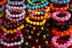 bracelets colorful Στοκ Εικόνες