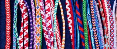 Bracelets d'amitié de Lored Image stock