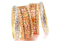 bracelets de bracelets Photographie stock