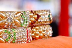 Bracelets de cire de cachetage Image stock