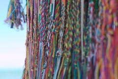 Bracelets de coton Image stock