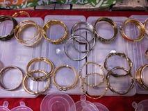 Bracelets de diamant Photo libre de droits