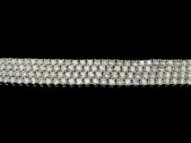 Bracelets de diamants Image stock