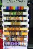 Bracelets de fantaisie d'affichage Photographie stock libre de droits