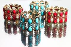 Bracelets de luxe Images libres de droits