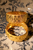 Bracelets de mariage de chinois traditionnel Photo stock