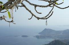 Bracelets dedicated to the virgin Mary Tsampika Royalty Free Stock Photography