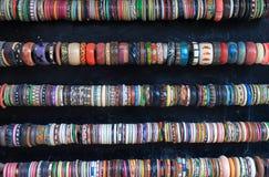 Souvenir gift shop bracelet Udaipur India Royalty Free Stock Photo