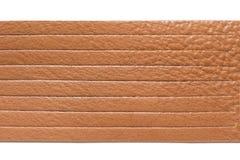 Bracelets en cuir de Brown Photographie stock libre de droits