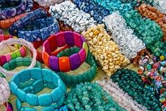 Bracelets et bibelots Image stock