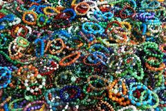Bracelets on hand. Bijouterie Royalty Free Stock Photo