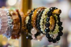 The bracelets on a hanger Stock Image