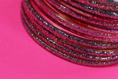 Bracelets indiens photographie stock
