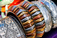 Bracelets and Jewelry Royalty Free Stock Photos